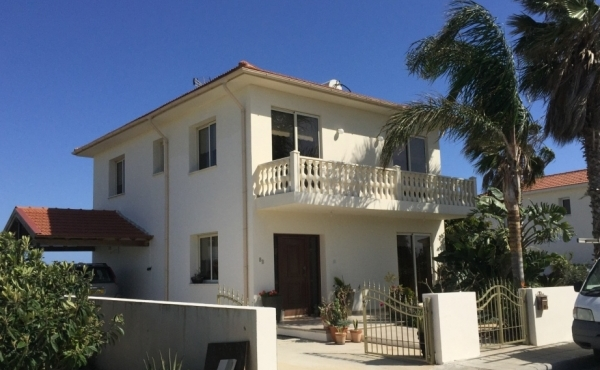 Three bed house for sale in Softades with sea views