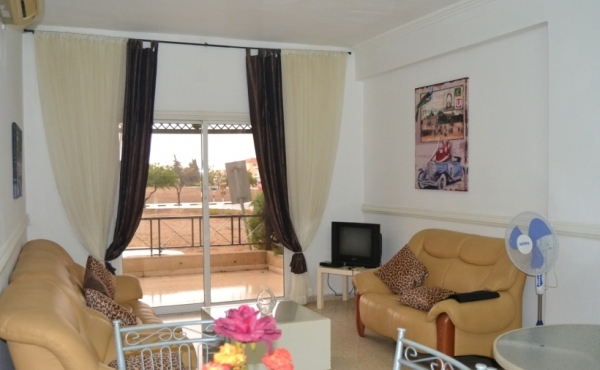 Two bed ground floor apartment for rent in Pervolia Larnaca