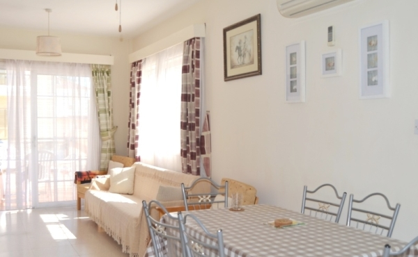 Two bed ground floor apartment for sale in Pyla