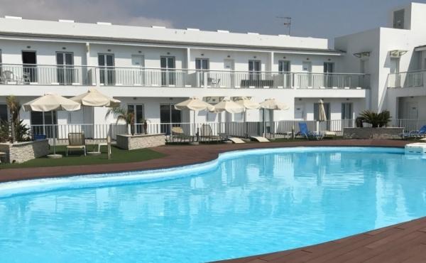 Luxury two bedroom ground floor apartment for rent in Mazotos Larnaca