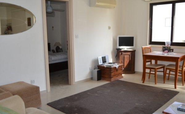 One bedroom furnished apartment for rent in Pervolia Larnaca